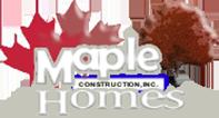 Maple Construction Inc Logo